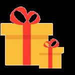 توزيع الهدايا